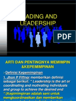Leading and Leadership