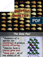 Population Genetics Unrevised