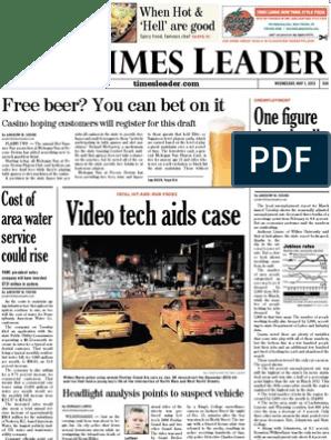 Times Leader 05-01-2013   Israel   International Politics