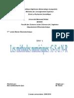 TPN° 1 resoudre des equations  par methode Newton