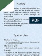 CH 4 Planning