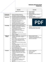 principal person specification