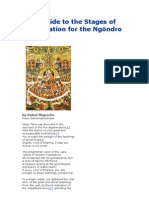 Brief Guide to the Stages of Visualization for the Ngöndro Practice Patrul Rinpoche