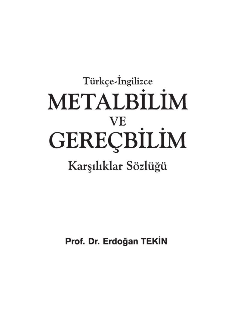 Metallurgy For Aluminium