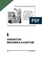 operator mekanika Kuantum