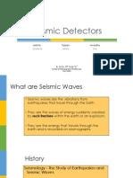 Seismic Detectors