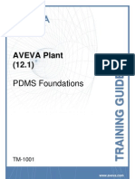 TM-1001 AVEVA Plant (12.1) PDMS Foundations Rev 3.0