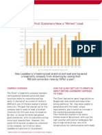 Case study showing an increase in sales revenue and ROI of a hospitality company