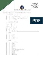 3 Guidelines for Nursing Care Plan -Hail University