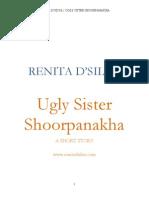 Ugly Sister Shoorpanakha by Renita D'Silva | A short story | Indian Fiction