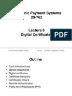 6 Certificates