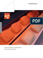 Infrared Heat for Food Disinfection