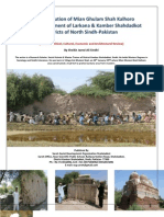 The Contribution of Mian Ghulam Shah Kalhoro in the Development of Larkana & Kamber Shahdadkot Districts of North Sindh-Pakistan 2013