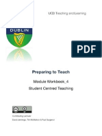 Preparing to Teach; Student Centred Learning: PTT4_scd