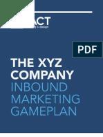 Inbound Marketing GamePlan Sample (1)