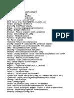Windows  shortcut key and commands