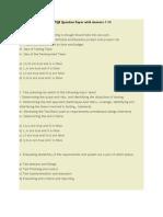 ISTQB Question Paper -14