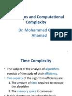 Dsa Complexity