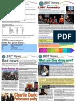 The BRIT School Newsletter - April 2013