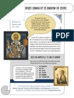 St Andrew Crete Handout Orthodox Christian