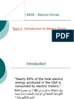 Intro Electrical Drive