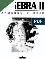 Álgebra II- Armando Rojo
