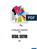 Retail sector project report