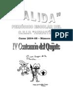 Periodico Centenario Quijote