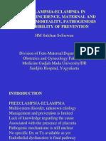 Preeclampsia-eclampsia in Indonesia