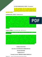 05001-23-31-000-2002-01318-01(1180-08) estudio tecnico - provisionalidad