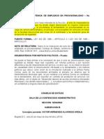 15001-23-31-000-2001-01005-01(0255-09) Libre nomb y insubsistencia