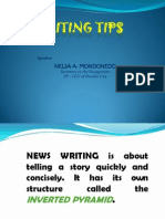 NEWSWRITING TIPS ppt..ppt.