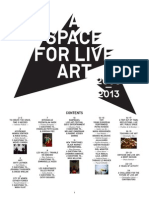 A SPACE FOR LIVE ART 2008-2013
