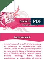 Social Networks - 2003