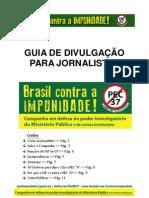 Campanha 'Brasil Contra a Impunidade' - Guia Para Jornalistas