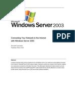 Connectnetwork Through Windows Server 2003