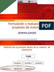 GeneralidadesFormulacionEvaluacionDeProyectos_0