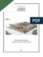 Caderno de Gestão e Elaboração de Projetos
