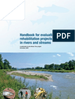 Handbook Evaluation Handbook for evaluating rehabilitation projects in rivers and streams