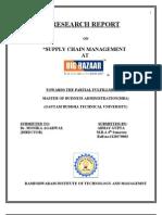 Supply Chain Management at Big Bazaar