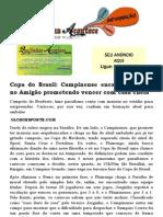 Copa do Brasil Campinense encara Flamengo no Amigão prometendo vencer com casa cheia