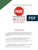 Manual e Modelos de Recurso de Multa de Trânsito.docx