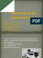 Materiales de Obturacion[1]