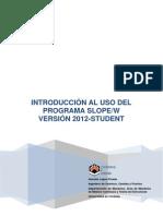 Introduccion a SLOPE_2012_version_1 - CDT