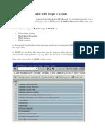 SAP LSMW Tutorial with Steps to create.docx