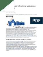 New COncepts Web Design