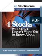 Stocks Wall Street Doesn't Want You to Know About