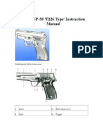 Norinco NP-58 'P226 Type' Instruction Manual