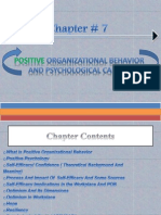 positive organizational behavior and psychological capital