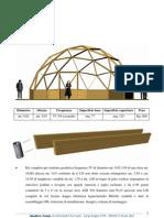 Scheda Tecnica Struttura Geodetica 3V 10metri Basso Profilo